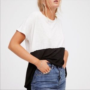 Free People || We The Free Midnight Tee Colorblock